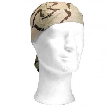 Headwrap 3 color desert