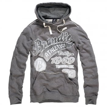 Hood-Sweatshirt Classic Mountain, II GREY grau, S