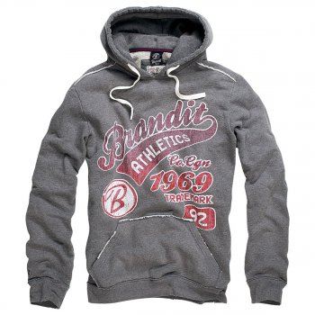 Hoodie Classic Mountain red