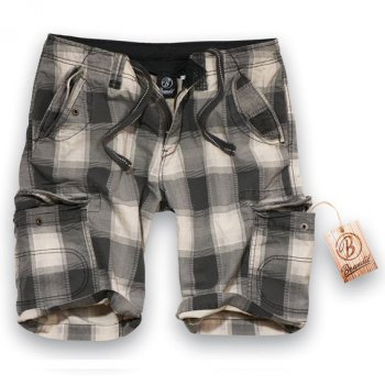 Iron Vintage Shorts grey checkered S