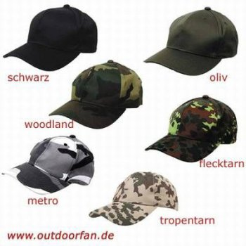 Kinder-Baseball-Cap woodland