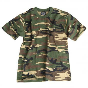 Kinder T-Shirt, woodland