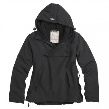 Ladies Windbreaker schwarz, M
