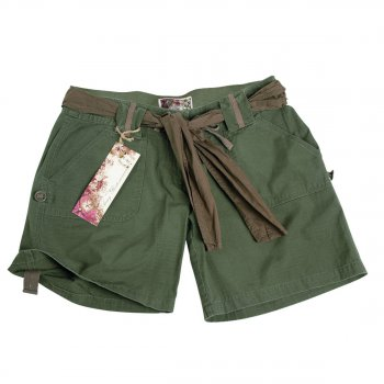MIL-TEC Army Shorts woman oliv, L