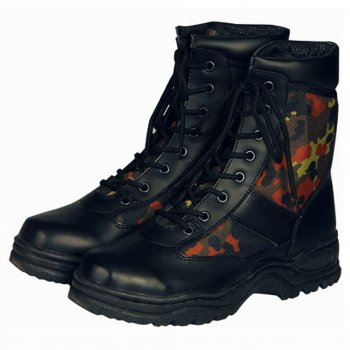 Mc Allister Outdoor Stiefel, flecktarn, 43