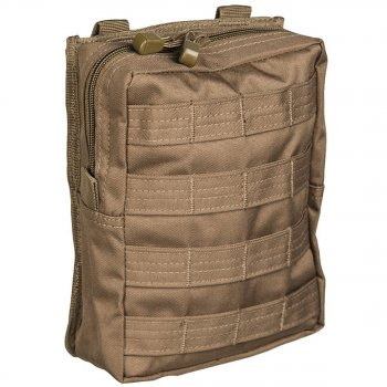 Molle Belt Pouch large, coyote