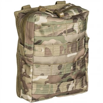 Molle Belt Pouch large, multitarn
