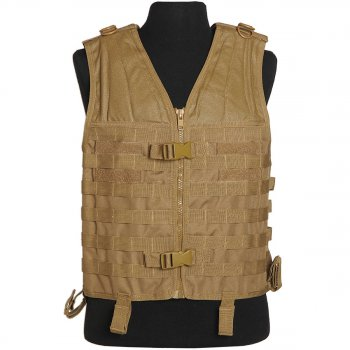 Molle Carrier Weste coyote