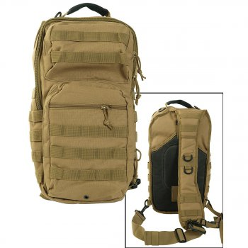 One Strap Assault Pack large coyote