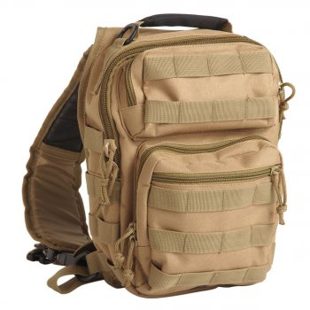 One Strap Assault Pack small coyote