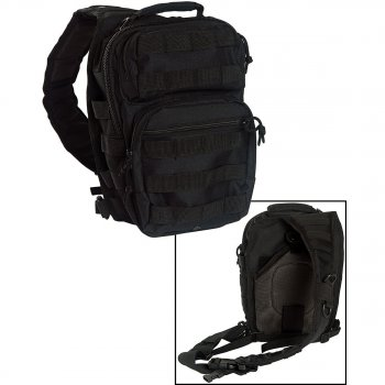 One Strap Assault Pack small schwarz