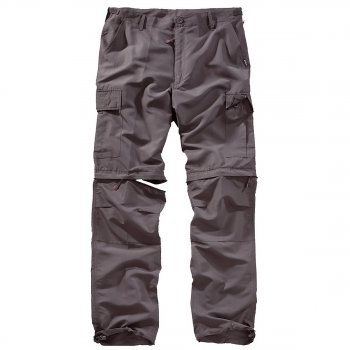 Outdoor Trousers Quickdry anthrazit, M