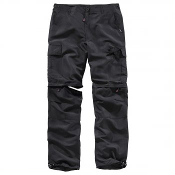 Outdoor Trousers Quickdry schwarz, M