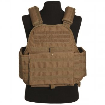 Plate Carrier Weste coyote