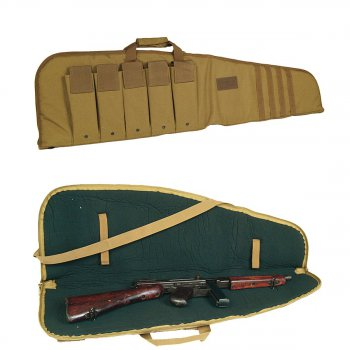 Rifle Case mit Tragegurt coyote, M