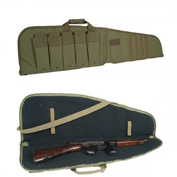 Rifle Case mit Tragegurt oliv, M