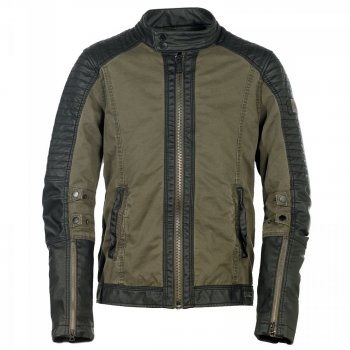 BRANDIT Road King Jacket oliv-schwarz, XXL