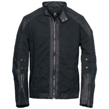 BRANDIT Road King Jacket uni schwarz, XXL