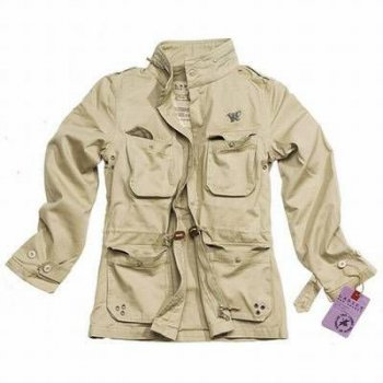 Ladies M65 Jacke beige washed, 36