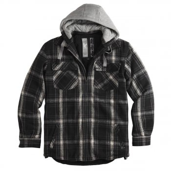 SURPLUS Lumberjack Jacket schwarz
