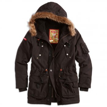 SURPLUS Trooper Supreme Parka schwarz, M