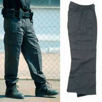 Security Seven Pocket Pants, schwarz, L
