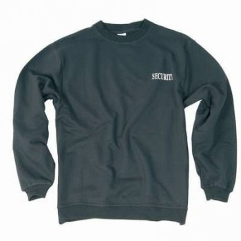 Security Sweatshirt schwarz, L