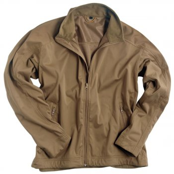 Softshell Jacke LIGHT WEIGHT coyote