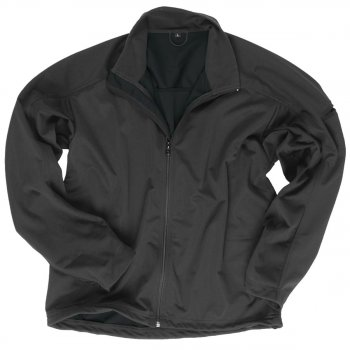 Softshell Jacke LIGHT WEIGHT schwarz, L
