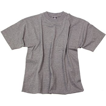 T-Shirt US Style, graumeliert, S