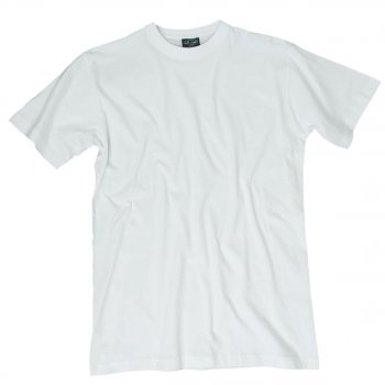 T-Shirt US Style, wei�, M