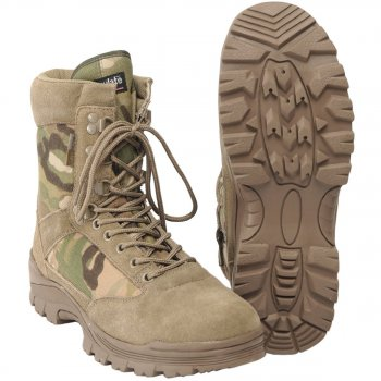Tactical Boot mit YKK Zipper, multicam 07 (40)