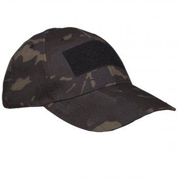 Tactical Einsatz-Cap, multitarn black