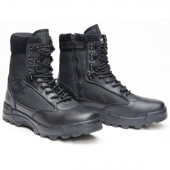 Tactical Swat Boots Zipper schwarz, 41