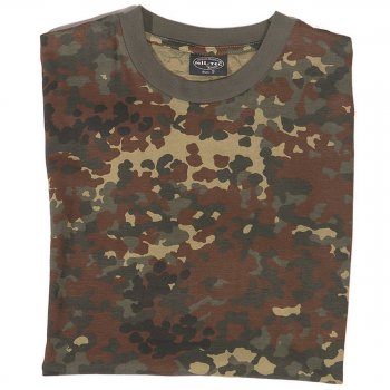 Tarn T-Shirt flecktarn, 4XL