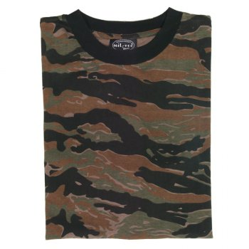 Tarn T-Shirt, tiger stripe, M