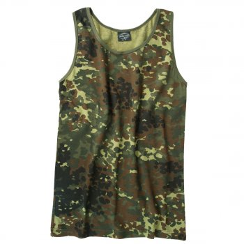 Tarn Tank-Top, flecktarn, 3XL