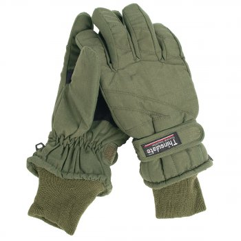 Thermo-Fingerhandschuhe Thinsulate oliv, XL