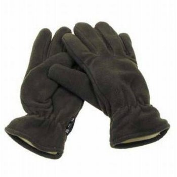 Thermo Fleece-Fingerhandschuhe, mit Thinsulatefuellung oliv, XXL