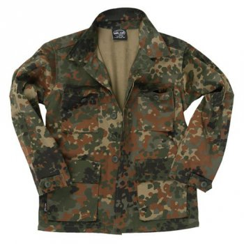 US BDU Jacke Kids, flecktarn, XL
