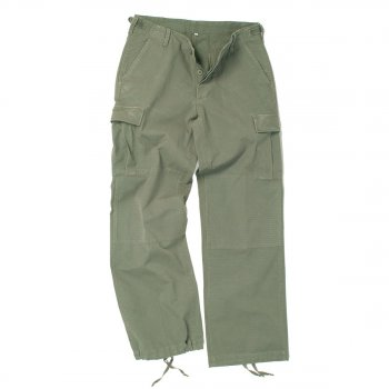 US Damen BDU Hose oliv washed, 38 (M)