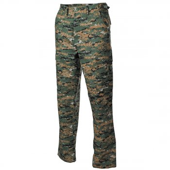 US Feldhose BDU original MIL-SPEC, digital woodland