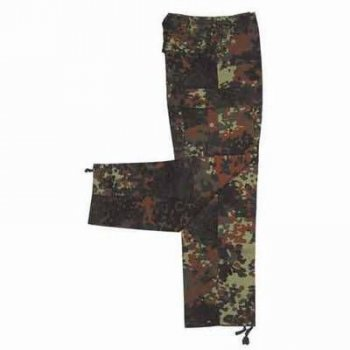 US Feldhose BDU original MIL-SPEC flecktarn, XL