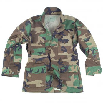 US Feldjacke BDU woodland original MIL-SPEC, XL