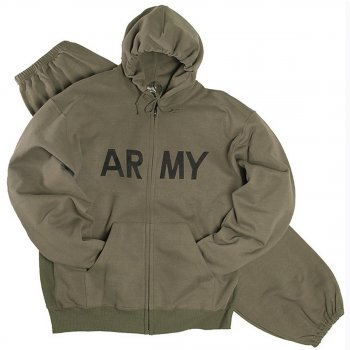 US Jogginganzug ARMY oliv 3XL
