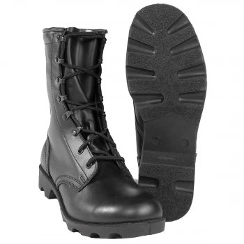 US Kampfstiefel Leder Speed Lace, 06