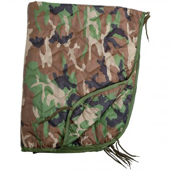 US Poncho Liner (Steppdecke) woodland