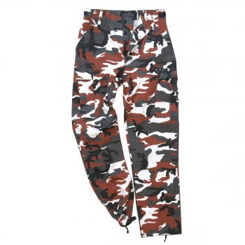 US Ranger Hose, red camo
