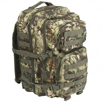 US Rucksack ASSAULT Pack II large, mandra woodland