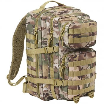 US Rucksack ASSAULT Pack II large, multitarn